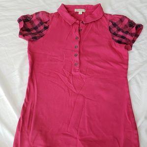 Authentic Burberry brit polo shirt